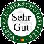 Von der Verbraucherschutzstelle e.V. Niedersachsen mit SEHR GUT empfohlener Online-Shop