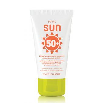SUN Getönte Sonnenschutzcreme für das Gesicht SPF 50+