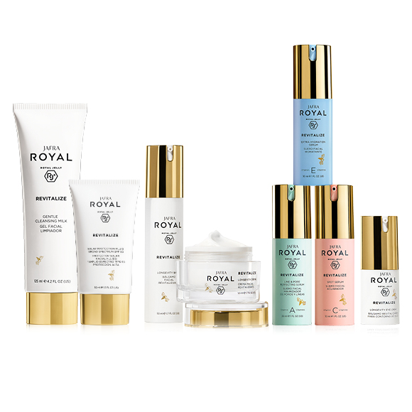 Royal Jelly Revitalize Deluxe Set - 6 Wahl-Produkte!