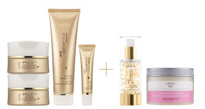 Gold Deluxe Set - 6 Wahl-Produkte