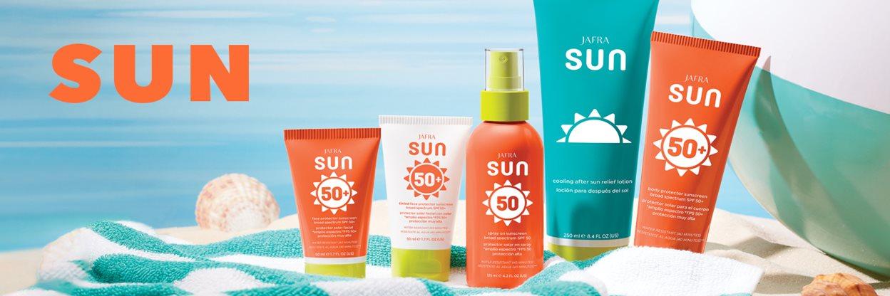 Banner Sonnenpflege